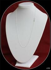 Sterling Silver Chain 20inch long 0.65mm wide link Trace Chain