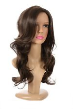 Long Layered Wavy Lace Front Tamera Wig | Human Hair Blend Natural Rooted Ombre
