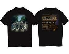 OFFICIAL LICENSED - THE BEATLES - ABBEY ROAD T SHIRT FAB FOUR LENNON MCCARTNEY