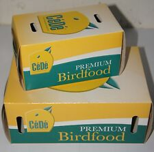 SMALL ANIMAL AND BIRD CARDBOARD CARRIER BOXES SMALL AND MEDIUM - CEDE