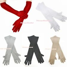 Red White Black Nude Gray Wedding Dance Party Bridal Elegant Princess Glove