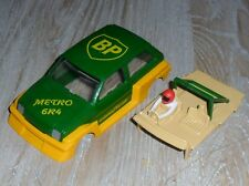 Scalextric MG turbo Metro 6R4 car shell, screen, motor, base, spares SUPERB