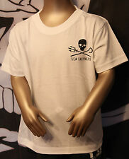 Jolly Roger  kid's White T-Shirt  Sea Shepherd