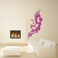 ANGEL wall art sticker guardian fallen wings bedroom decal transfers vinyl mural