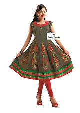 Ethnic Attention Grabber Kurti / Kurta With Free Legging (Bottom)