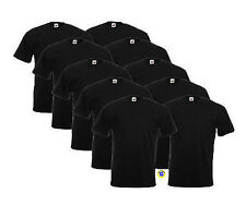 FRUIT OF THE LOOM T-Shirt | 10er Pack | Heavy | schwarz | S - XXL         180.01