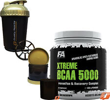 FA NUTRITION FITNESS AUTHORITY XTREME BCAA 5000 400g POWDER AMINO COMPLEX RECOVR