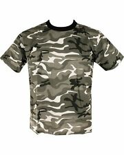 British Army Urban Camo t shirt Military