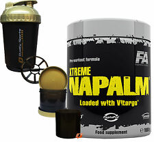 FITNESS AUTHORITY FA NUTRITION XTREME NAPALM LOADED VITAGRO 1KG PRE WORKOUT PUMP
