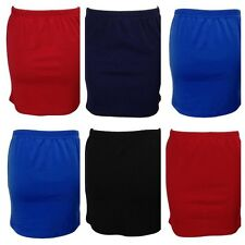 NEW WOMENS LADIES STRETCHY JERSEY BODYCON SHORT TUBE MINI SKIRT PLUS SIZE 8-18