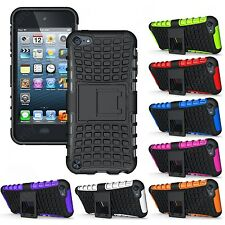 Heartly Flip Kick Stand Spider Armor Hard Case Cover Apple iPod Touch 5 5th Gen