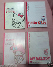 NEW 2013 Sanrio Original Japan 30 Pages Notebook *Choose: Hello Kitty /My Melody