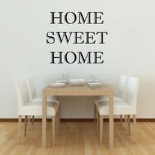 HOME SWEET HOME wall sticker living room lounge transfer mural decal stickers