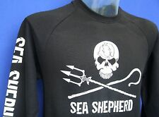Unisex Organic Sea Shepherd Jolly Roger Crew Neck Sweat Shirt