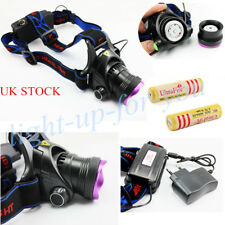 2000LM CR XM-L T6 Focus Zoomable LED Headlamp Headlight Head Torch 18650 Lamp