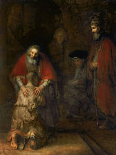 Rembrandt Return of the Prodigal Son Art Print Wall Art Print Picture