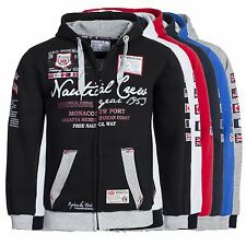 Geographical Norway GAUTICAL Hoodie Sweatjacke Jacke Pullover Gr. S-XXL