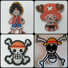 Anime 'One Piece' embroidered patch choose your favourite Luffy, Chopper etc