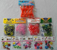 LOOM BANDS - Refills: Brazil, England, Scented / Lucky 7 Charms / Knitting Tool
