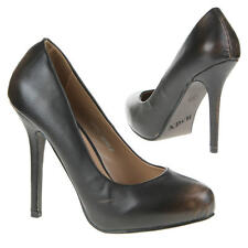 Damen Schuh Pumps New Bella HIGH HEELS USED OPTIK Schwarz Braun