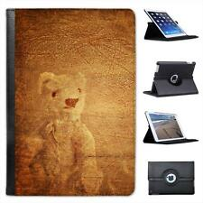 Good Old Days Vintage Teddy Bear Folio Leather Case For iPad Mini & Retina