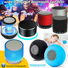 Mini Wireless Bluetooth Portable Speaker Super Bass For iPhone Samsung Tablet UK