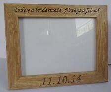 Personalised Somerset Photo Frame Engraved Free - Wedding, Anniversary,Birthday