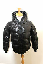 Duvetica Celto black Winter Warmest GREY Goose Down Jacket NEW WARM SKI COAT