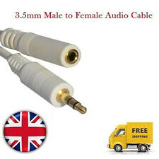 3.5mm Male to Female Jack Audio Stereo Auxiliary Cable For Headphone Speaker