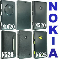FOR VARIOUS NOKIA LUMIA N1020 N625 N520 LEATHER CASE COVER FLIP POUCH SKIN BACK