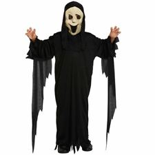 SCREAM SCARY MOVIE DEMON GHOST HALLOWEEN CHILDRENS FANCY DRESS COSTUME OUTFIT