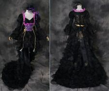 a-321 S/M/L/XL/XXL VOCALOID Miku Cosplay Kostüm Gothic dress costume black