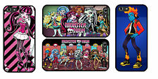 Monster High iPhone 4/4S 5/5S Samsung Galaxy S3 S4 S5 Mini Sony HTC CASE COVER