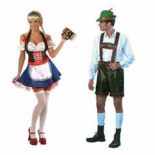 OKTOBERFEST GERMAN BEER COSTUMES FRAULEIN SEXY WOMAN MAN PARTY OUTFIT