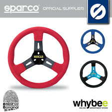 SPARCO F320 U GO-KART STEERING WHEEL ALCANTARA CARBON LOOK 320mm for KARTING