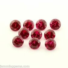 BULK (1.5mm - 15mm) Round AAA Lab Created Ruby