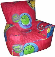 Chuggington Bean Bag Chairs Kids Character Sofa Beanbags Children, Toddler, Kids