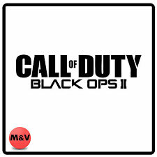 Call of Duty Black Ops 2 sticker for laptop, xbox, playstation, car bumper etc
