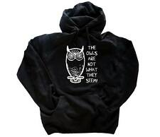 The owls are not what they seem peaks  - twin Kapuzen-Sweat-Shirt HOODIE S-XXL