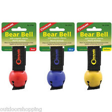 Bear Bell w/Magnetic Silencer - Attaches to clothing or pack, Warns Animals