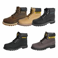 Caterpillar CAT Colorado Boots Stiefel Schuhe Leder Stickshift