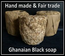 Fair Trade African Black Soap (With 50% grade A Shea Butter)