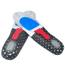 HOT Gel Orthotic Sport Running Insoles Insert Shoe Pad Arch Support Heel Cushion