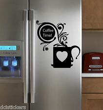 Vinilo decorativo #412#  COFFEE TIME sticker paredes cocina  wall pegatinas