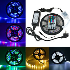 5M RGB 3528 SMD 300 LED Flexible LED IP65 Bande Ruban Strip Light+Remote+Power