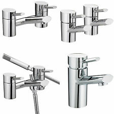 BRISTAN OVAL TAPS BASIN MIXER BATH SHOWER FILLER CHROME MONO BATHROOM SET