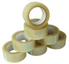 Heavy Duty Clear Sellotape Parcel Packing Tape - 25mm / 50mm x 66M