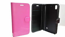 FLIP LEATHER WALLET BOOK CASE CARD HOLDER COVER FOR HUAWEI Ascend G620S G620