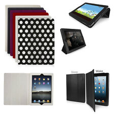 ORZLY Slim Tri Fold Case Cover for iPad 2/3/4 - ALL COLOURS