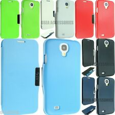 FOR SAMSUNG GALAXY S4 I9500 I9505 LEATHER CASE COVER WALLET FLIP POUCH BACK + SP